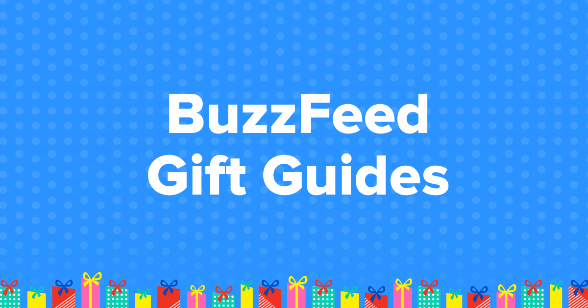 Gift Guide on BuzzFeed