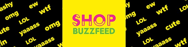 Shop BuzzFeed Merch logo
