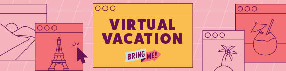 Virtual Vacation logo