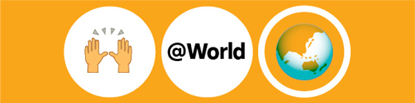 @World logo
